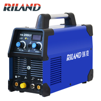 RILAND 220V TIG200CT TIG Inverter Welding Machine Inverter Welding Argon Tig Welder For Soldering Working