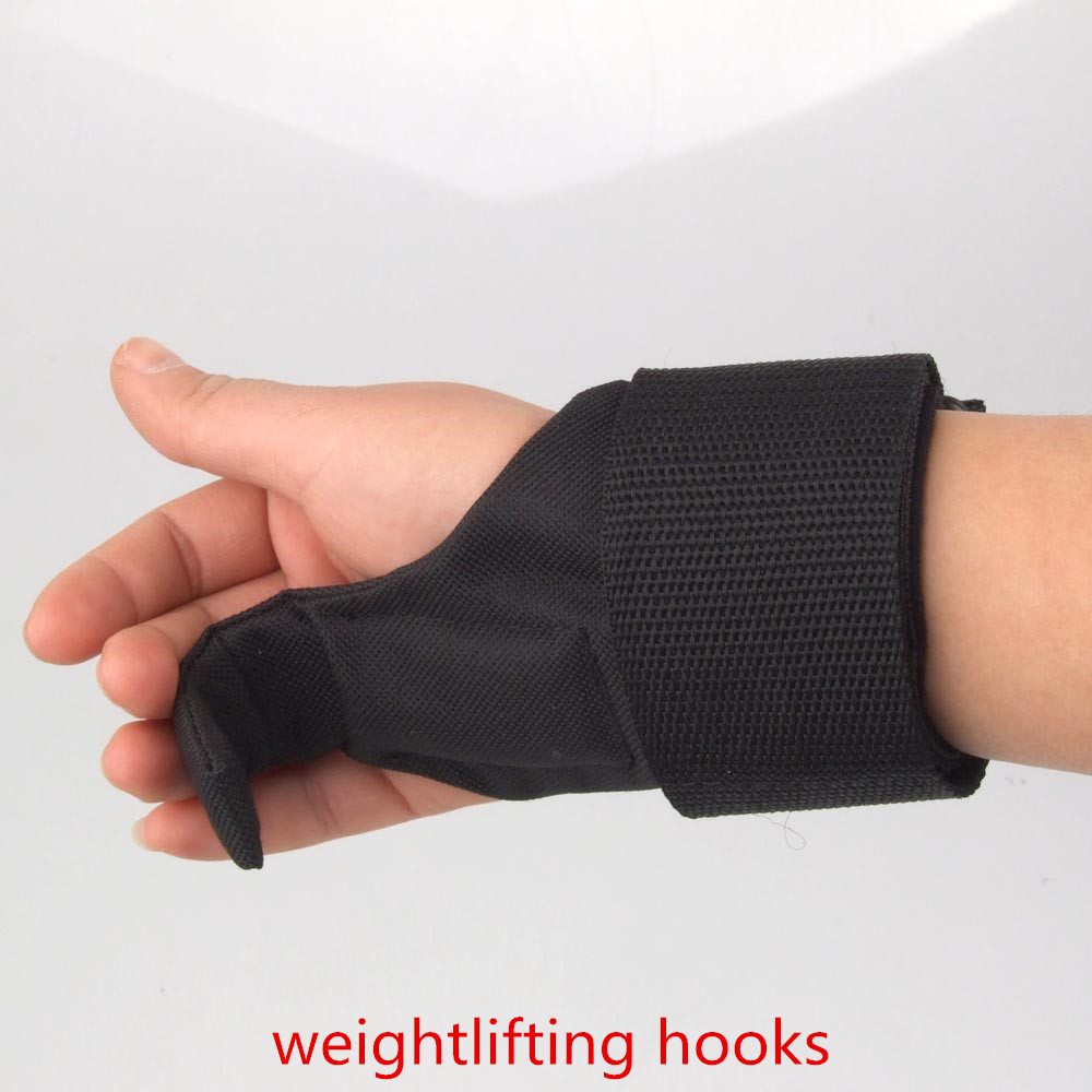 Workout Gloves For Weak Wrists: High Quality 1 Pair Weightlifting Hooks Weight Lifting