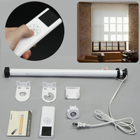 Roller Blind Motor AC 100 240V Electric Roller Shade Tubular Motor with Remote Control Home Decoration for Curtain Shade Roller