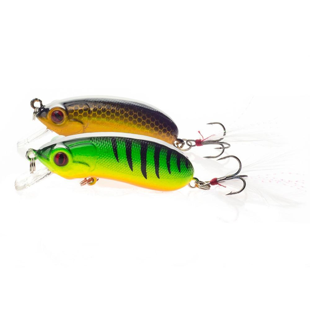 SEALURER New Peshkimi Minow Lure 6cm 10.1g High Quality Floatinging - Peshkimi - Foto 6