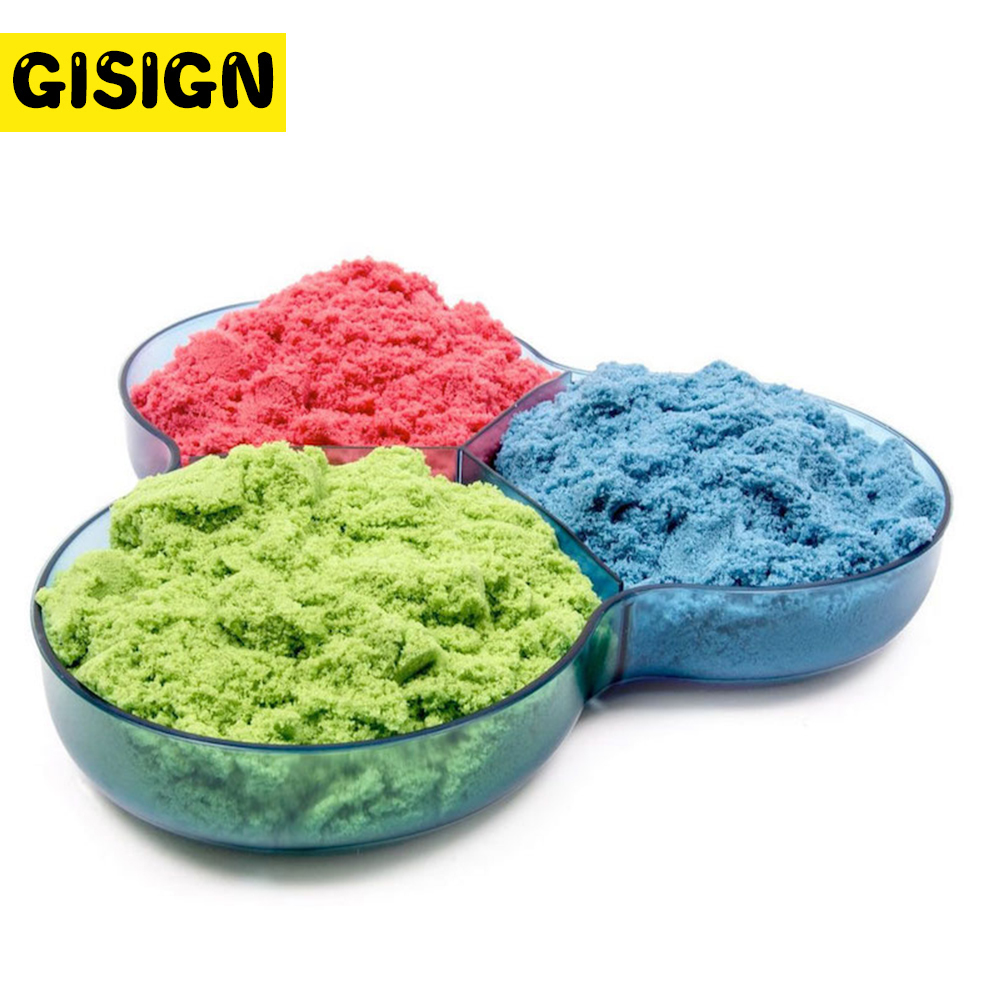 300g/Bag Slime Sand Clay Magic Toys Super Colored Dynamic Sand Indoor Arena Play Sand Clay Kids Toys For Children