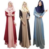 b16f1ed711 Femme 2019 Vestido Vintage Robe Femme Women Dress Clothing Abaya Long Maxi  Dress Arab Jilbab Muslim