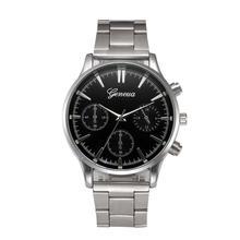 Men Watch Saat Clock Relogio Masculino Hot Luxury High Quality Fashion Crystal Stainless Steel Analog Quartz Wrist Bracelet2017