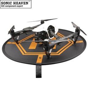 Image 4 - 80CM DJI Drone Fast fold Luminous Parking Apron Foldable Landing Pad for FIMI X8 Mavic Mini Air 2 Pro Phantom 3 4 Inspire 1 2