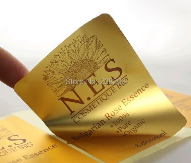 Online Get Cheap Custom Gold Foil Stickers Aliexpresscom - Custom gold foil stickers