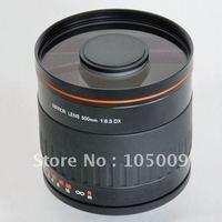 500mm f6.3 t montagem espelho lente telefoto preto para canon ef m nikon n1 pentax sony a montagem fuji olympus câmera|Lente da câmera| |  -