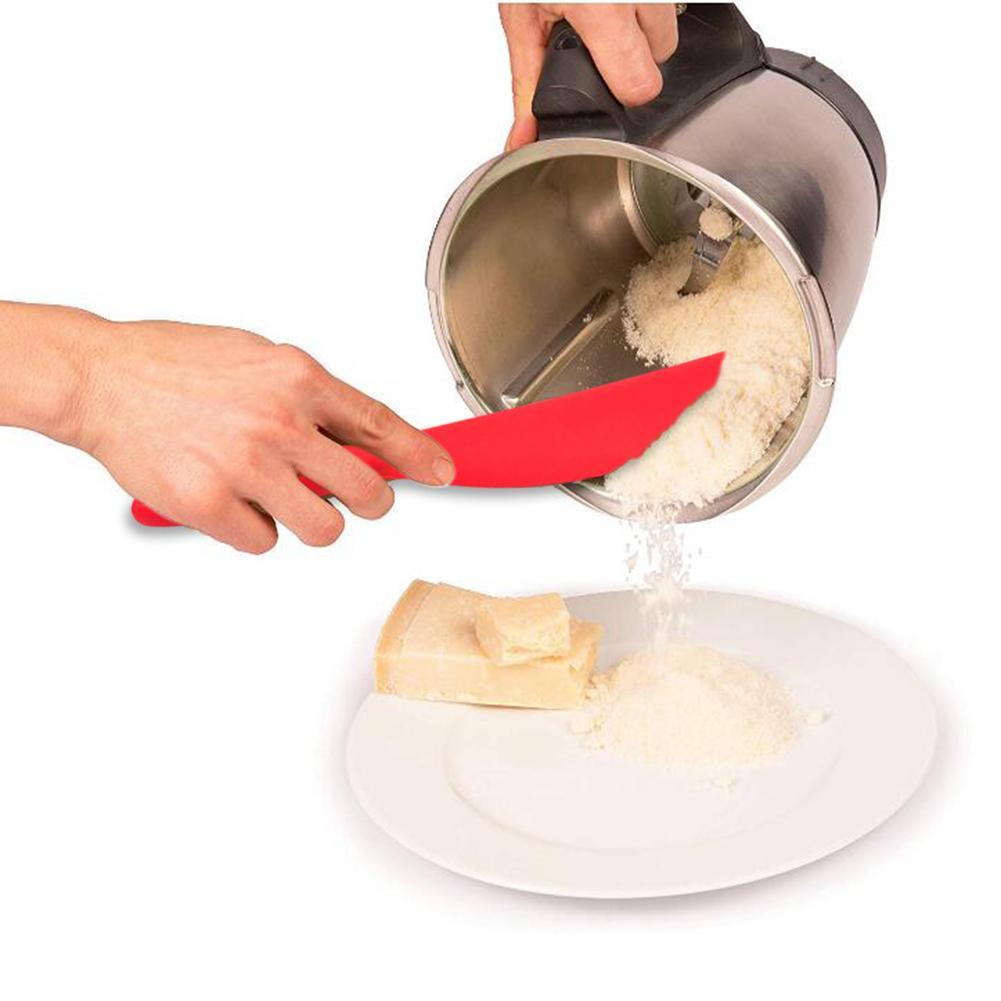 One Piece All - Inclusive Silicone Long Scraper Cream Scraping Cake Spatula Baking Utensils Silicone Scraper