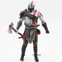 High Quality God Of War 4 Kratos Action Figure Collectible Model Toy In OPP Bag 18cm