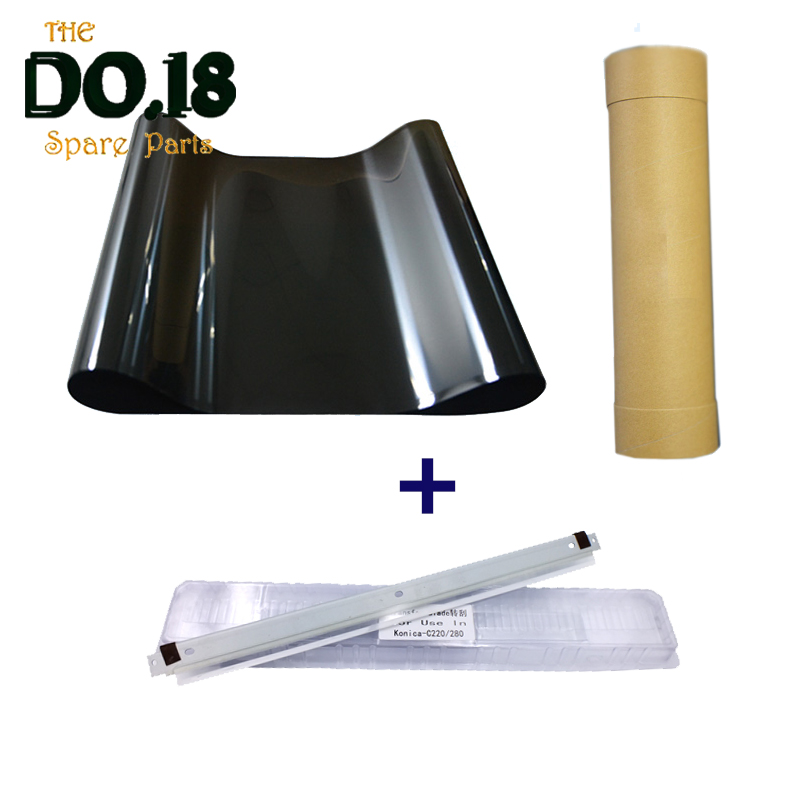 Compatible high quality C220 C280 C360 IBT Transfer belt and transfer cleaning blade for Konica Minolta bizhub C220 C280 C360 high quality drum cleaning blade compatible for ricoh ap600ln ap600n ap2600 ap2600n ap600n sp6330 400s 400l lenovo 7800