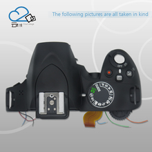 Free shipping!D3200 top cover with mode dial power button outer shell with flash unit for Nikon