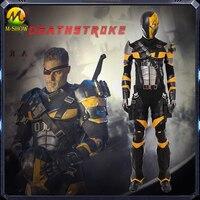 Deathstroke Cosplay Costume Men Full Set Slade Joseph Wilson Cosplay Costume Custom Made For Halloween Party