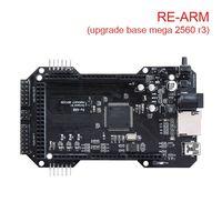 3D Printer Parts Cloned RE ARM 3D Printer Board Upgrade Mega 2560 R3 32 Bit A4988/DRV8825/TMC2208/TMC2130 To Ramps 1.4/1.5/1.6