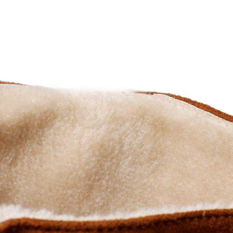 Bota Caliente Beige Otoño black Rodilla S789 Botas Calzado Invierno Nieve Yellow Ocultos Asileto 2018 Zapatos Plataforma Mujeres Piel Cuña brown Oxaggv