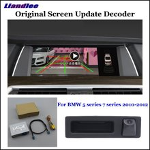 Liandlee Car Original Screen Update System For BMW 5/7 (F10/F11/F07/F01/F02/F03/F04) CIC System Rear Camera Digital Decoder Plus