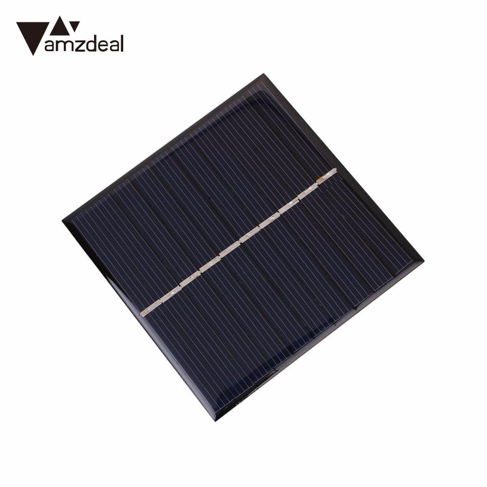 Amzdeal Universal 0 8w 5v Polysilicon Diy Solar Panel Epoxy Plate Battery Power 80x80 Outdoor Travelling Powerbank Diy Module Diy Solar Panel Diy Solarsolar Diy Panels Aliexpress