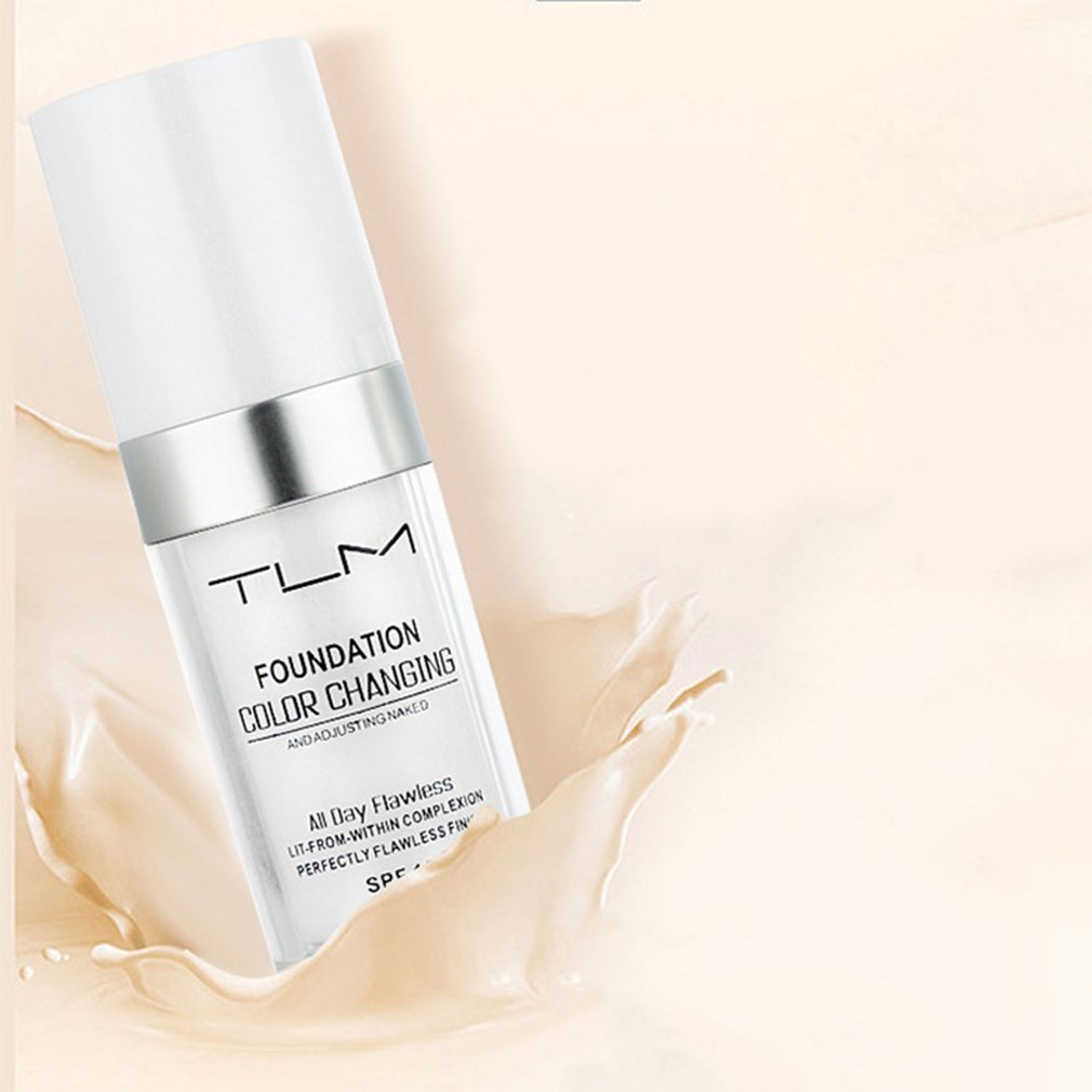 Colour Changing Warm Skin Tone Foundation Makeup Base Nude