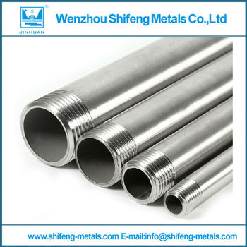 1pc Stainless Steel 304 Male Threaded Pipe Fittings 200mm BSP 1