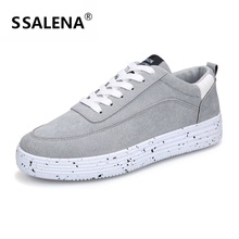 Spring Autumn Men Vulcanize Shoes Breathable Mesh Lace Up Flats Shoes Lightweight Comfortable Sneakers Size Eu 39-44 AA50296