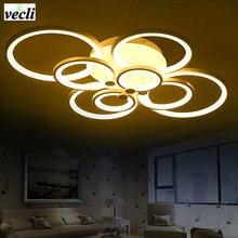 Modern fopyer hall Bedroom living room led ceiling lamp,creative fashion led ceiling light, luck ring series, 8 heads