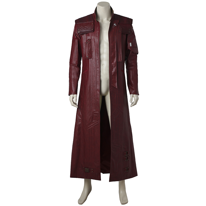 Guardians of The Galaxy 2 Star Lord Cosplay Costume Jacket Peter Quill Cosplay Suit Coat Halloween