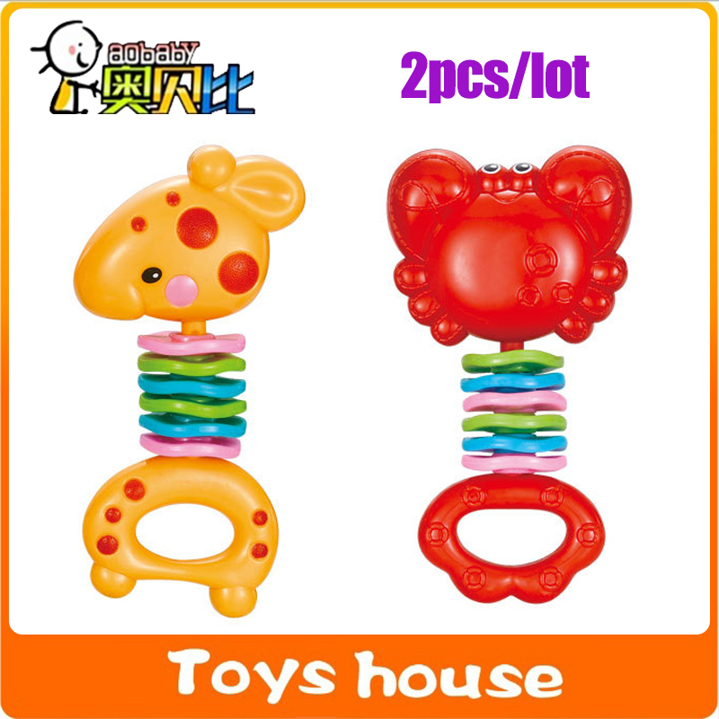 Aliexpress.com : Buy 2pcs/lot baby toys 0 12 months baby ...