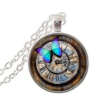 2017 New Real Limited Collier Collares Time Lord Seal Pendant Dr Who Necklace Charm Glass Jewelry Travel Necklaces PendantsHZ1