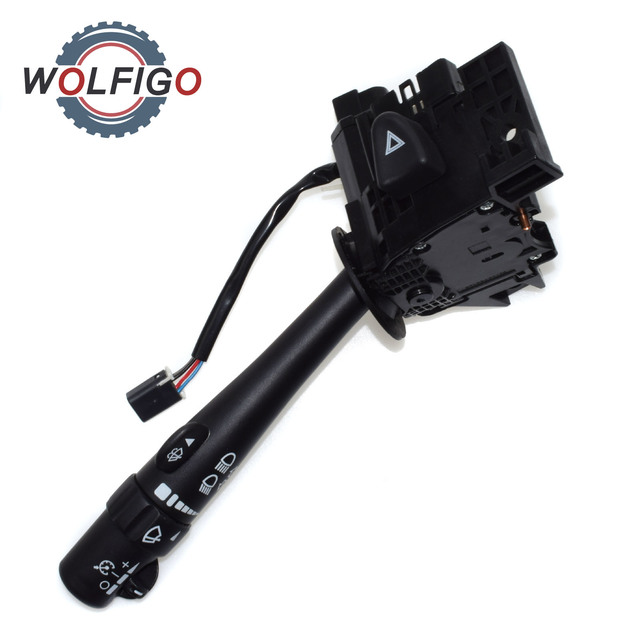 Aliexpress Com Buy Wolfigo Windshield Wiper Arm Turn Signal Lever Cruise Control Switch For Buick Rainier Gmc Yukon Chevy Isuzu Cadillac Hummer From