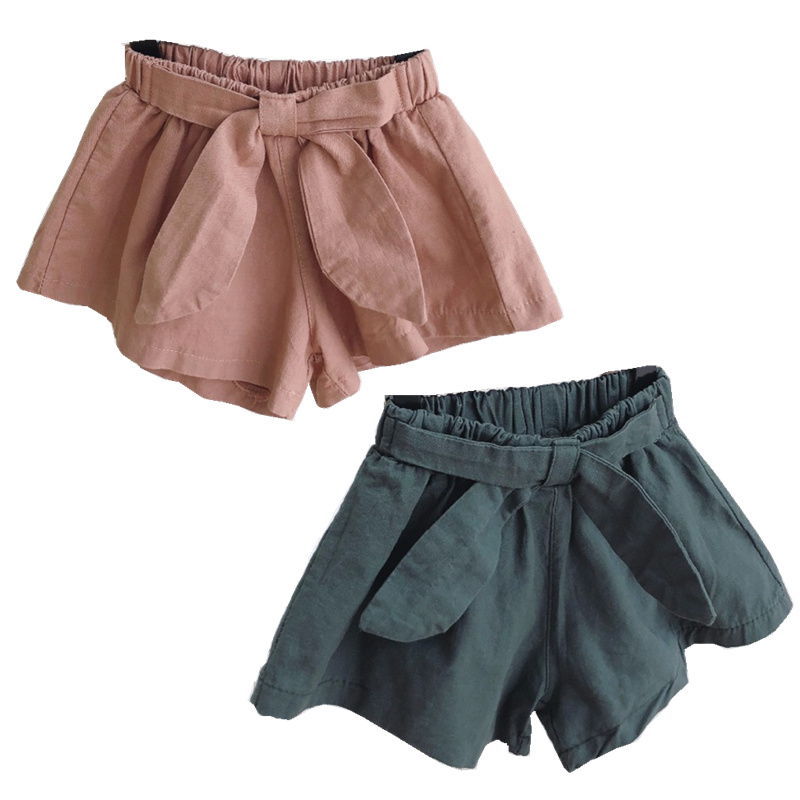 Celveroso 2 Colors Baby girls shorts cotton children shorts kids shorts for girls clothes toddler girl clothing summer bow short in Shorts from Mother Kids