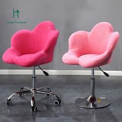 Louis Fashio De Elevação Giratória Cadeiras de Escritório Maravilhoso Simples Moderno