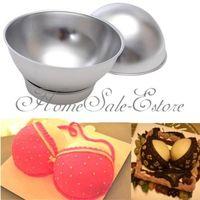 Household Convenient Tools 3D Sport Aluminum Ball Sphere Cake Pan Baking Mold Bakeware Tin Kitchen Mould