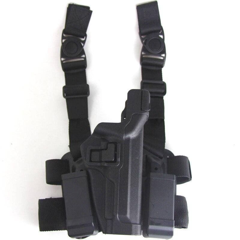LV3 tactique Beretta M9 cuisse jambe étuis avec pochette de Magazine étui Beretta 92 96 pistolet Paintball Airsoft Sport étuis de pistolet