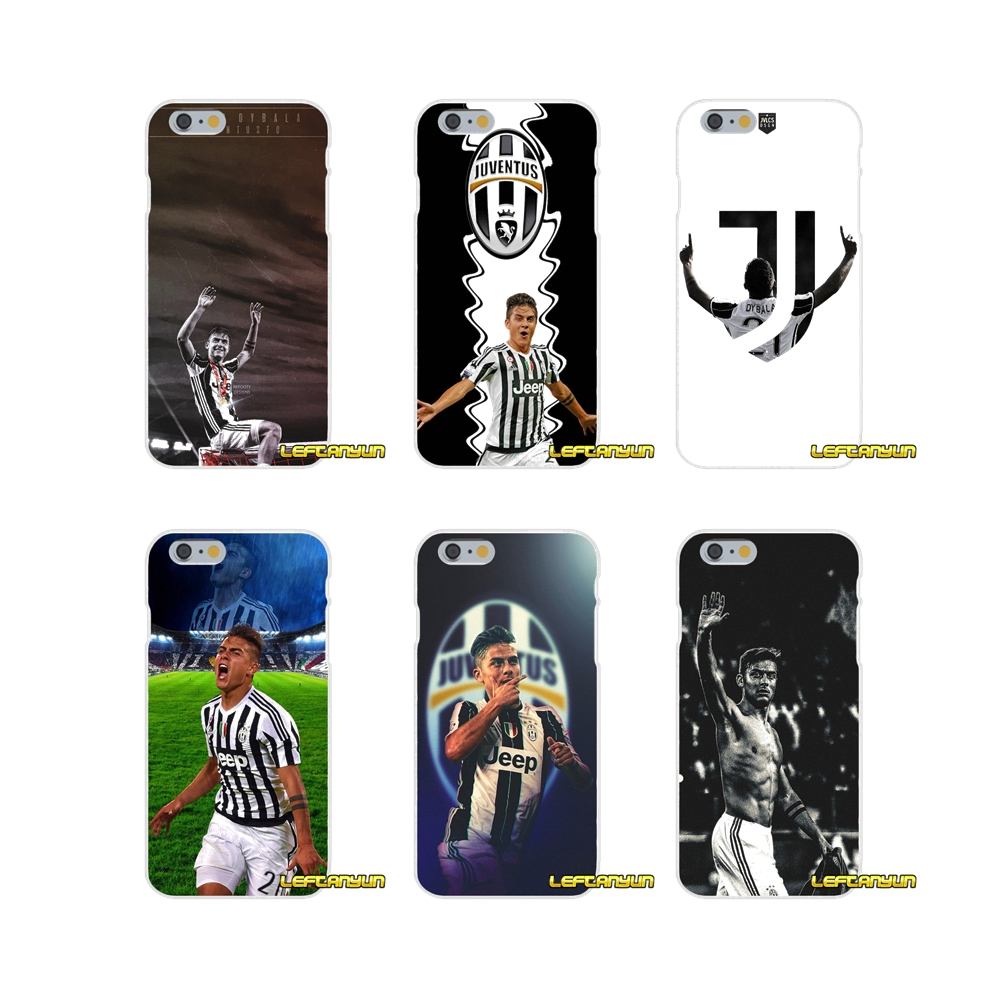 For iPhone X 4 4S 5 5S 5C SE 6 6S 7 8 Plus Italy famous soccer 21 Paulo DYBALA Soft Phone Case Silicone