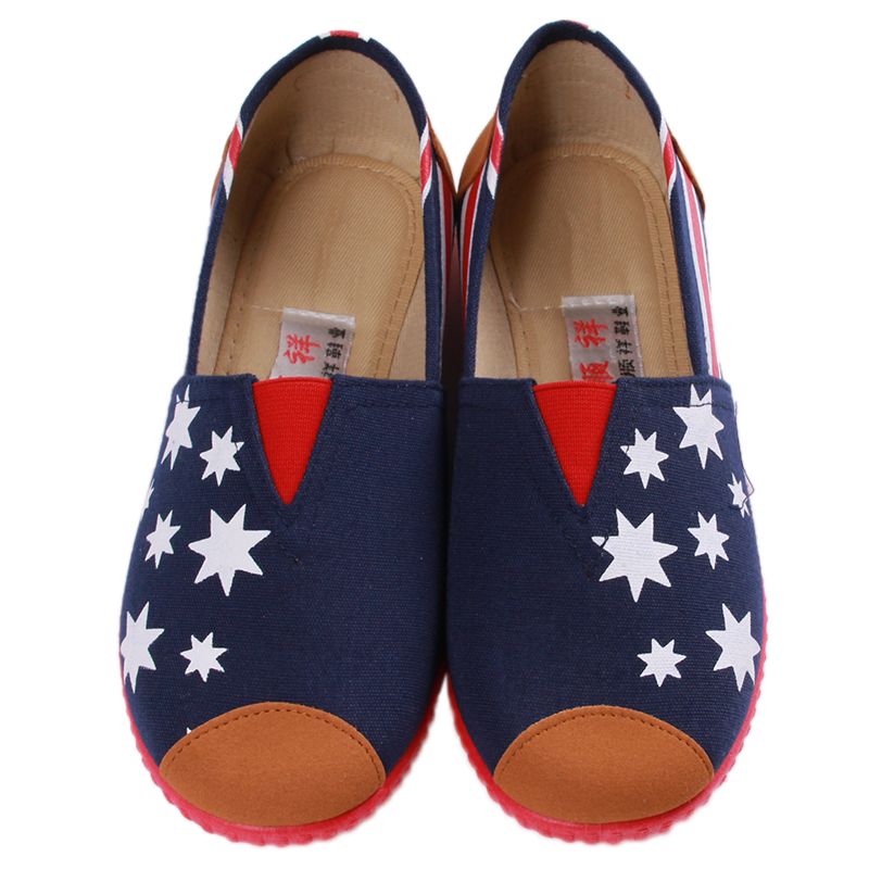 nuevas mujeres coloridas zapatos planos mujeres de los planos cómodos zapatos d