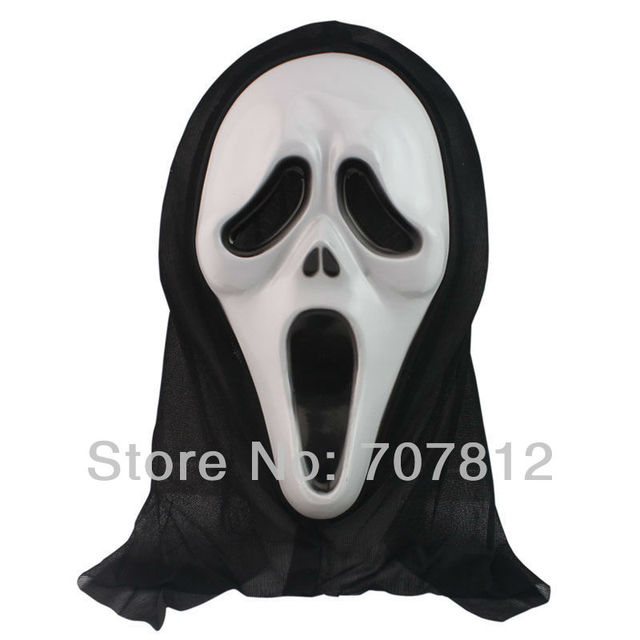 2013 new arrival 10pcs scream mask Anonymous mask Halloween carnival party mask brand new with free shipping