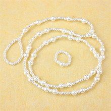 Sexy Beautiful Dangle Barefoot Sandals Imitation Pearl Ankle Bracelet Foot Jewelry Gift