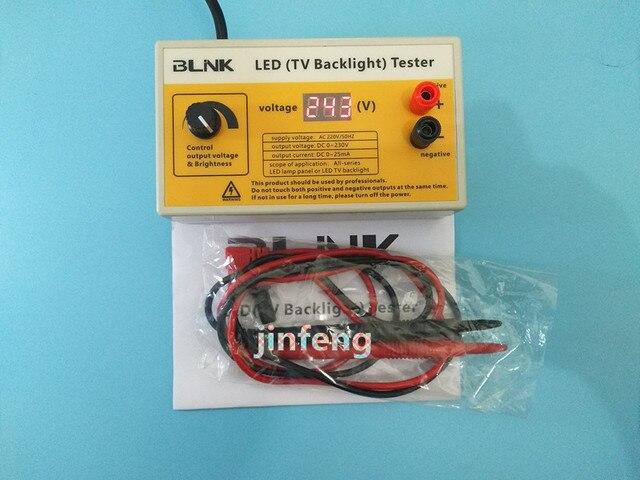 0 230 فولت الذكية الجهد اختبار LED الخلفية تستر أداة لجميع حجم LED تلفاز LCD كمبيوتر محمول شحن مجاني