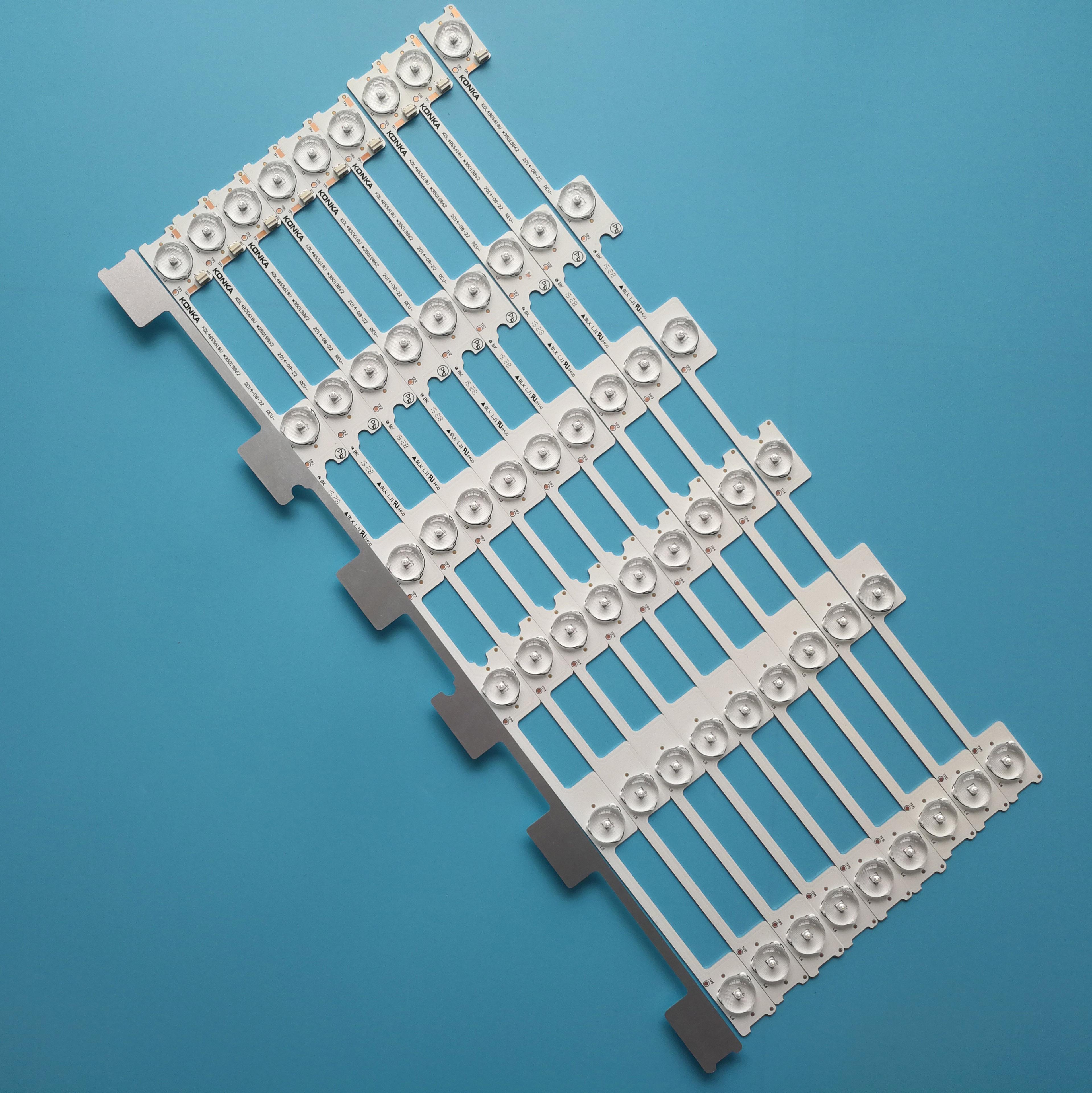 30 50 100 Pieces lot New LED strip For Konka KDL48JT618A KDL48JT618U 35018539 35018539 35018540 35019862