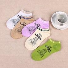 Wholesale Womens socks Cotton Breathable Thin Female Sock Slippers Invisible 21 colors girl Short Ankle Socks harajuku