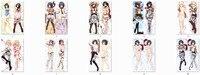 Attack on Titan anime Characters mikasa ackerman & christa lenz throw pillow cover shingeki no kyojin body Pillowcase