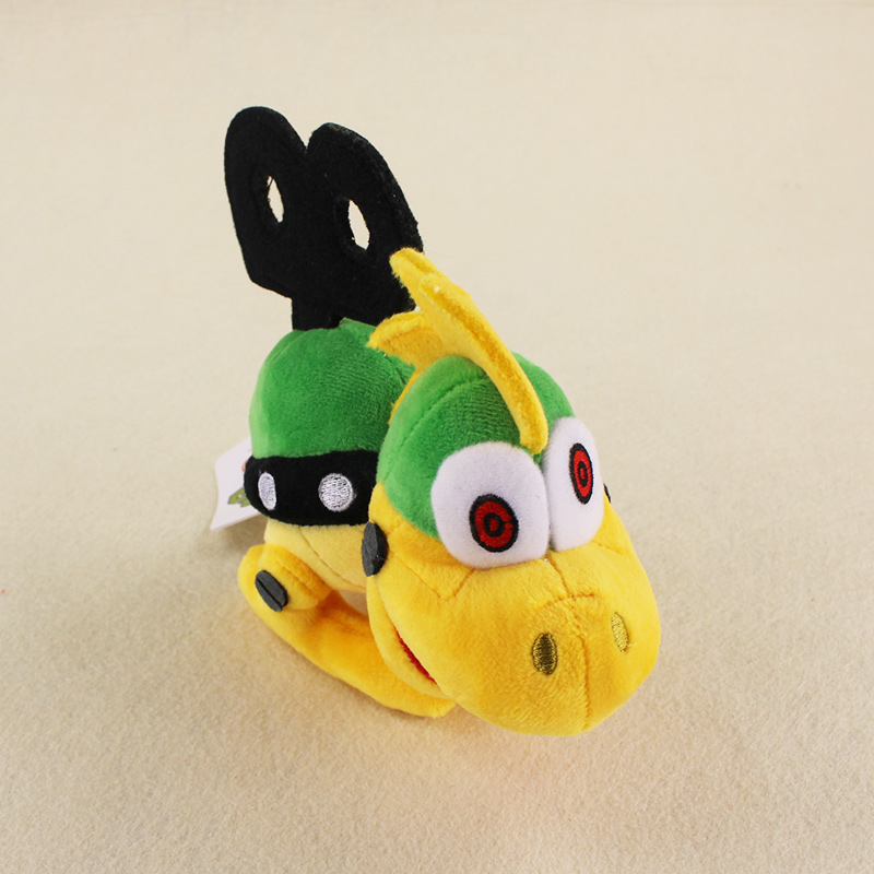 15cm Anime Super Mario Bros Chain Turtle Soft Stuffed Dolls Cute Plush Toys Kids Gifts Free