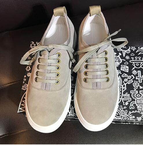 forme As Haute Qualité Picture Zapatillas À Réel Plate Cuir Chaussures Daim Baskets 2018 Femmes Sauvage En Picture Haut Pour as De Les Appartements Casual Lacets IxBq7qO1