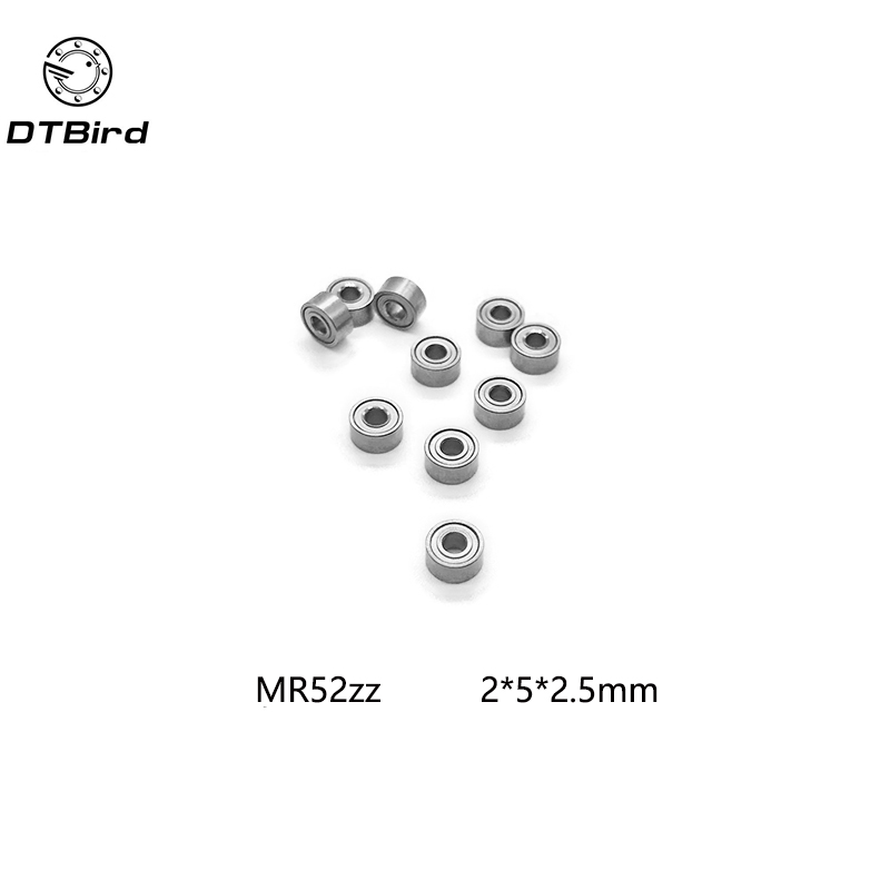 Free shipping 10pcs High quality Low-speed bearings MR52 Z MR52ZZ MR52Z L-520ZZW52 2x5x2. 5 mm 2*5*2.5 mm free shipping 10pcs mc145158 2 145158 2