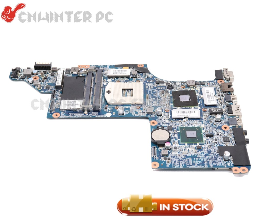 NOKOTION 634259-001 For HP Pavilion DV7-4000 DV7T-5000 DV7-5000 Laptop Motherboard HM55 DDR3 6570 1GB Free cpu nokotion laptop motherboard for hp pavilion dv7 dv7 4000 609787 001 da0lx6mb6h1 intel hm55 ati 216 0774007 ddr3