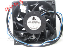 Free Delivery.AFC14D1DG 14CM 380V 0.20A 76W Server Fan High Pressure DC Fan