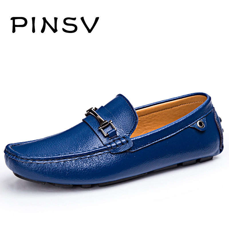 Leather Shoes Men Loafers Red Moccasins Men Flats Shoes Brand Slip On Leather Casual Shoes For Men Zapatillas Hombre top brand high quality genuine leather casual men shoes cow suede comfortable loafers soft breathable shoes men flats warm