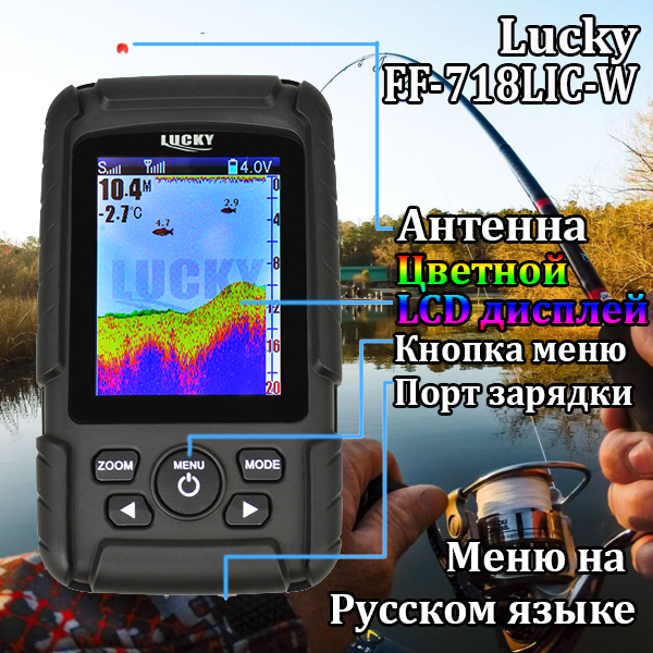 Lcd a Cores Finder 980 90 Graus 125
