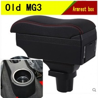 For MorrisGarages MG3 armrest box central Store content Storage box with cup holder ashtray USB interface products