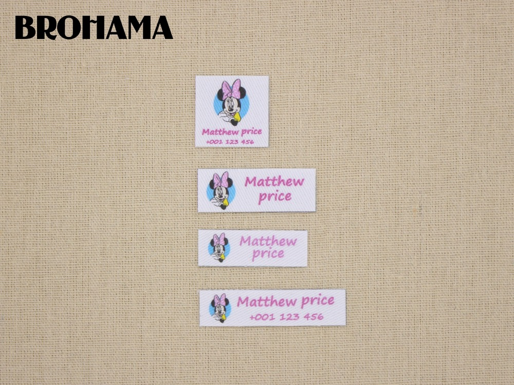 Custom name label, childrens clothing label, ironing label, boy and girl tag, sweet princess (L82)