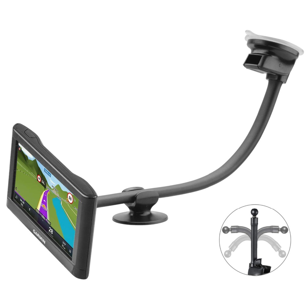 NEW Garmin GPS Window Mount Nuvi 2555LMT 2555LT 2595LMT Car windshield holder