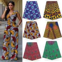 Горячая продажа Анкара африканская расписаная восковая ткань Новое поступление Леди Мода Африканский 100% хлопок hollandais настоящий новейший голландский воск ткань